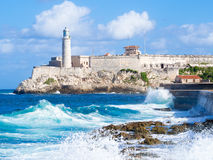 El Morro castle in Havana Royalty Free Stock Photography