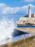El Morro castle in Havana Royalty Free Stock Photo