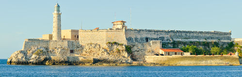 El Morro castle and lighthouse in Havana Royalty Free Stock Image