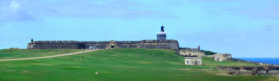 El Morro castle panorama Royalty Free Stock Photo