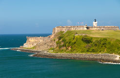 El Morro Castle in Puerto Rico Royalty Free Stock Photography