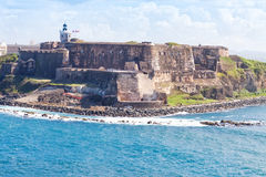 El Morro Castle in San Juan Stock Image