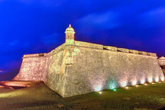 El Morro Castle, San Juan, Puerto Rico Royalty Free Stock Photo