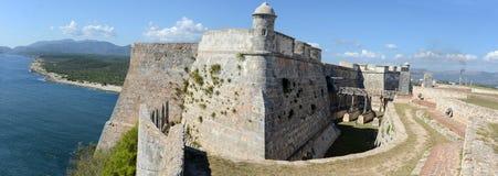 El Morro castle at Santiago de Cuba. Cuba Royalty Free Stock Images