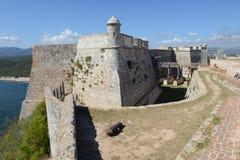 El Morro castle at Santiago de Cuba Royalty Free Stock Photography