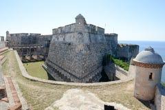 El Morro castle at Santiago de Cuba Royalty Free Stock Images