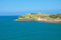 El Morro Castle Stock Photos