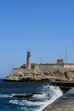 EL Morro em Havana fotos de stock royalty free