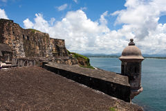 El Morro Fort Royalty Free Stock Images