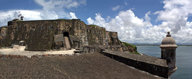 El Morro Fort Panorama Stock Photography