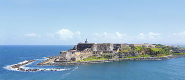 El Morro fort Puerto Rico. El Morro fort in old San Juan, Puerto Rico, Caribbean - West Indies Royalty Free Stock Image