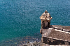 El Morro Fort Tower Stock Photos