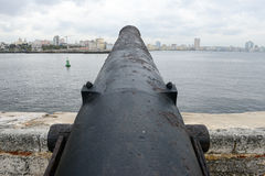 El Morro fortress with the city of Havana in the background Stock Photography