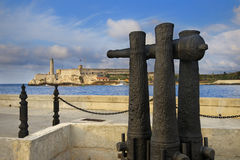 El Morro fortress in Havana bay entrance Stock Images