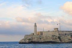 El morro fortress in Havana, cuba Stock Images