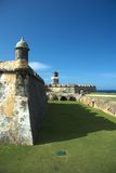 El Morro fortress, Old SanJuan Royalty Free Stock Images