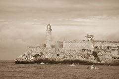 EL Morro, La Havane Photo stock