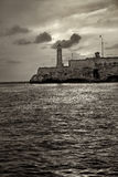 El morro lighthouse in havana Royalty Free Stock Images