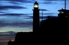 El Morro lighthouse in Havana Royalty Free Stock Image