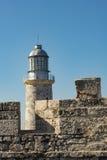 El Morro lighthouse Havana Royalty Free Stock Images