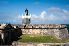 El Morro lighthouse Royalty Free Stock Image