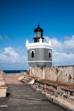 El Morro lighthouse Royalty Free Stock Photo