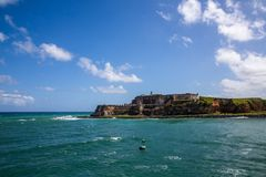 El Morro in Old San Jaun Royalty Free Stock Image