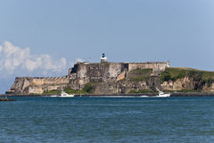 EL Morro, Porto Rico de fort Photo stock