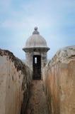 EL Morro - Porto Rico della fortificazione Immagine Stock Libera da Diritti