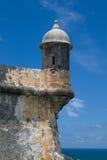EL Morro - Porto Rico della fortificazione Immagine Stock