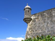 El Morro, Puerto Rico. Old Spanish Fort in Old San Juan Royalty Free Stock Image