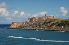 El Morro, Puerto Rico. The Spanish fortress of El Morro, in San Juan, Puerto Rico Stock Photos