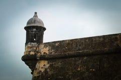 EL Morro - Puerto Rico de la fortaleza Fotos de archivo libres de regalías