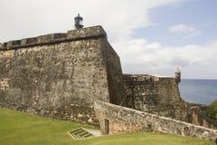 EL Morro - Puerto Rico del fuerte Imágenes de archivo libres de regalías