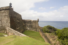 EL Morro - Puerto Rico do forte Imagem de Stock Royalty Free