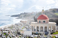 El Morro, San Juan. El Morro in San Juan, Puerto Rico stock photo