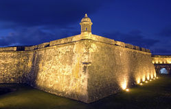 EL Morro San Juan viejo Imagen de archivo
