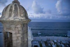 EL Morro und Ozean Lizenzfreies Stockfoto
