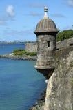EL Morro, vieux San Juan Porto Rico Images libres de droits