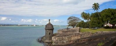 El-morrofästning, Puerto Rico Arkivbilder