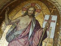 El mosaico de Jesus Christ foto de archivo