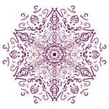 El motivo de las líneas Imagen del vector Foto de archivo libre de regalías