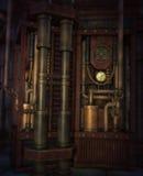El motor, 3d CG Fotografía de archivo libre de regalías