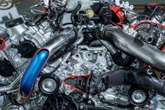 El motor de coche Foto de archivo libre de regalías