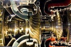 El motor del aeroplano Imagen de archivo