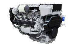 Motor diesel fotos de archivo libres de regalías