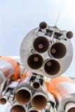 El motor espacial del cohete de Soyuz fotos de archivo libres de regalías