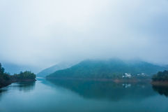 El mountainpor la mañana Imagen de archivo libre de regalías