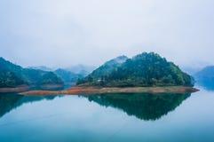 El mountainpor la mañana Foto de archivo