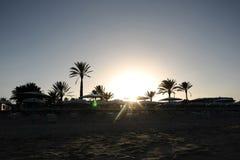 El Mouradi resort beach Stock Photos